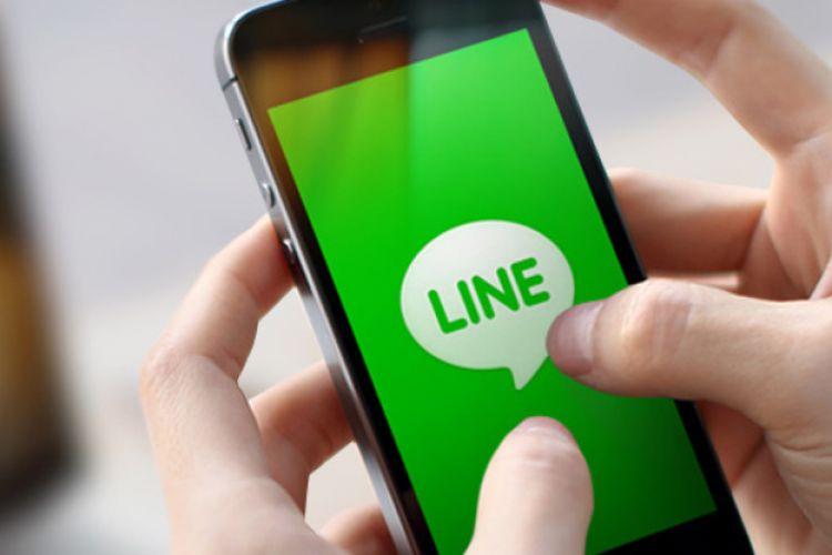 Aplikasi Chat LINE
