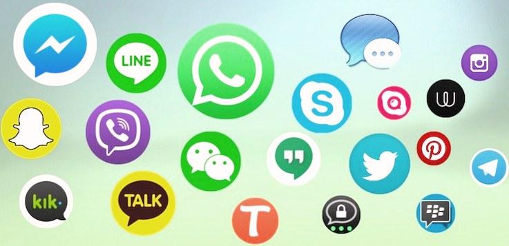 Aplikasi Chat dengan Teknologi Telekomunikasi Paling Banyak Diminati