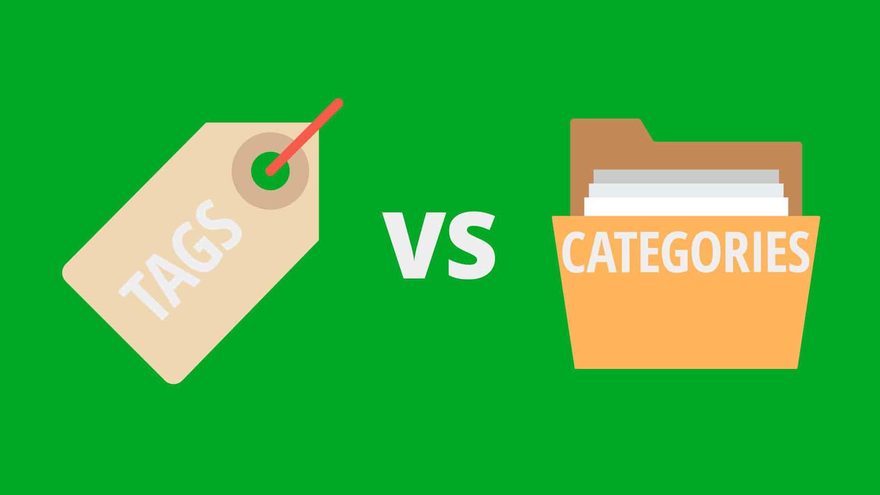 perbedaan tags dan kategori