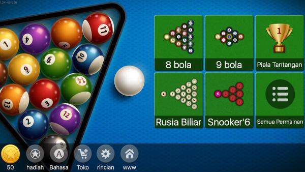 Permainan Judi Billiard Online