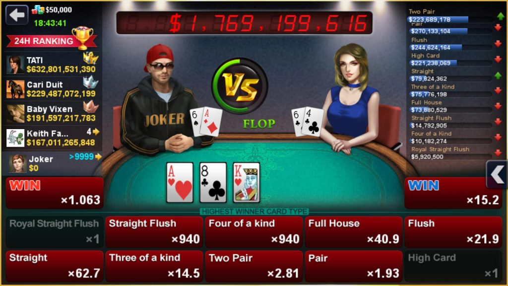Some Reasons Why You Should Play DH Texas Poker